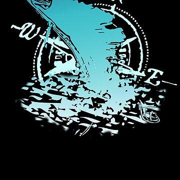 Sail FL Aqua by ContactLenz