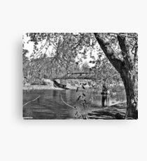 Beauty At The Lake Canvas Print
