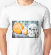 Skull and pumpkins T-Shirt