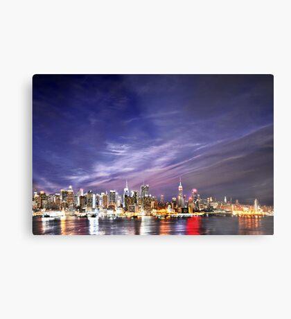 Manhattan Skyline: NYC Metal Print