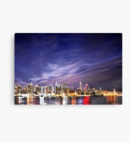 Manhattan Skyline: NYC Canvas Print