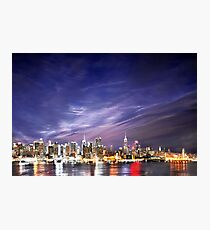 Manhattan Skyline: NYC Photographic Print