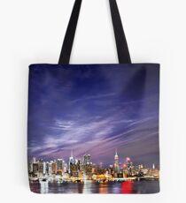 Manhattan Skyline: NYC Tote Bag