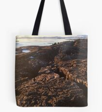 Iceland Tectonic Plates Tote Bag