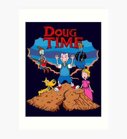 Doug Time. Art Print
