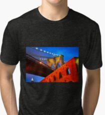 Brooklyn Bridge: NYC Tri-blend T-Shirt