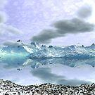 Alpine Lake by Hugh Fathers