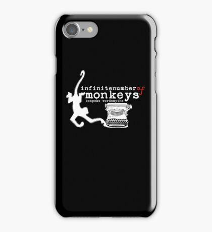 infinite number of monkeys iPhone Case/Skin