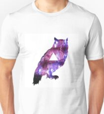 Owl Watercolour Unisex T-Shirt