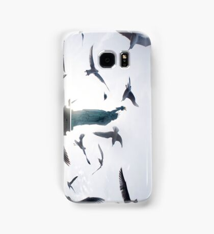Statue of Liberty with Birds: NYC Samsung Galaxy Case/Skin