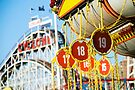 Coney Island Astroland and Cyclone: Brooklyn, NYC by brotherbrain