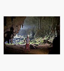 Susa Cave, shadows of the past Photographic Print