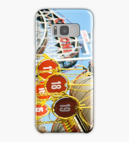Coney Island Astroland and Cyclone: Brooklyn, NYC Samsung Galaxy Case/Skin
