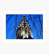 Chrysler Building: NYC Art Print