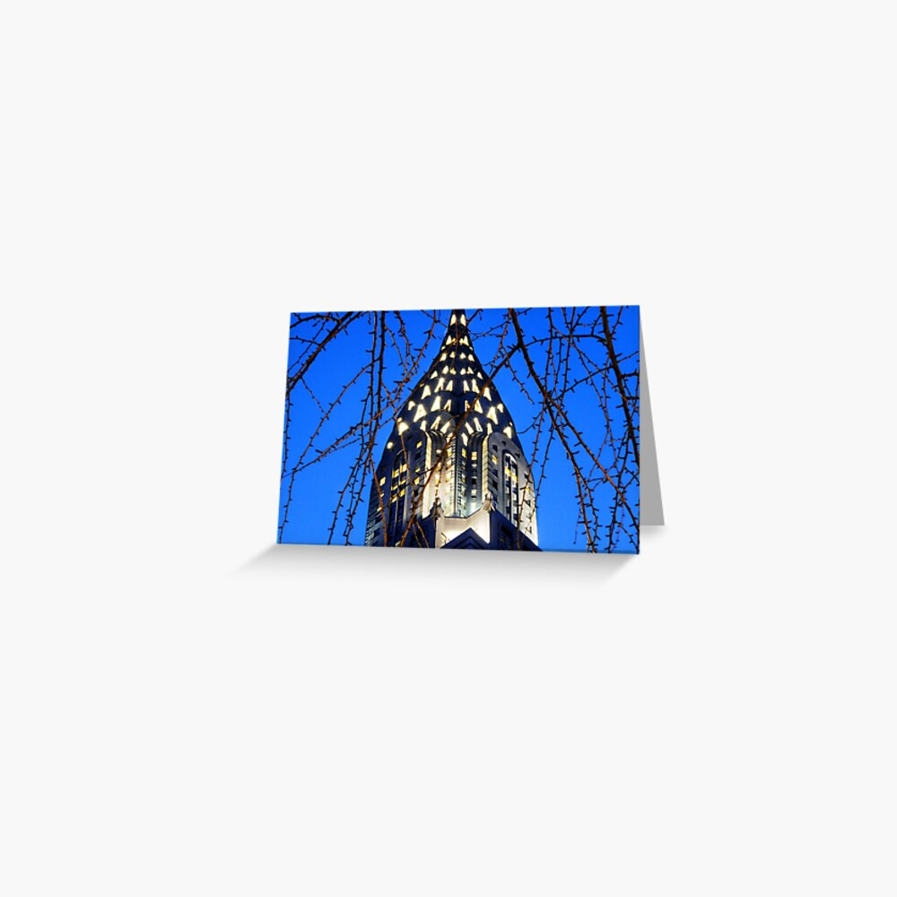 Chrysler Building: NYC Greeting Card