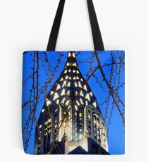 Chrysler Building: NYC Tote Bag