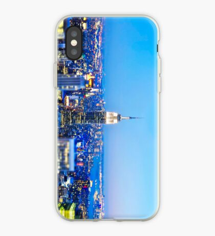 Empire State Building at Night: NYC iPhone Case