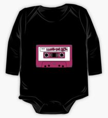 I love the 80's - pink tape One Piece - Long Sleeve
