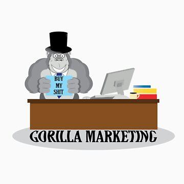 GORILLA MARKETING by thedisillusion