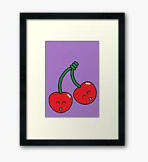 Cherry Twins Framed Print