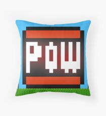 Big POW Throw Pillow