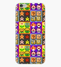 Mario Power-Up Evolution iPhone Case