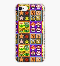 Mario Power-Up Evolution iPhone Case/Skin