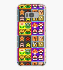 Mario Power-Up Evolution Samsung Galaxy Case/Skin