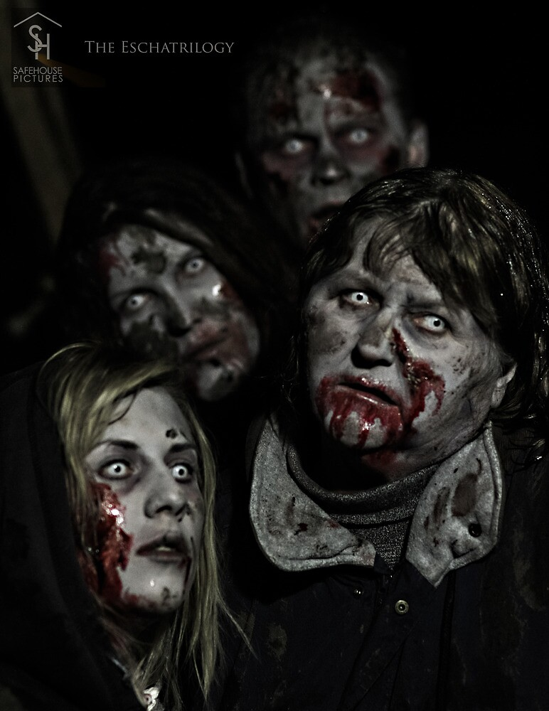 Zombies don't say 'Brains' by Oliver Kershaw