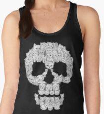 Camiseta de tirantes para mujer Los cráneos son para coños
