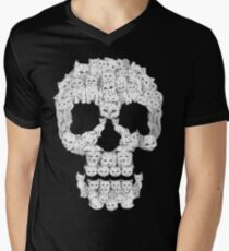 Skulls are for Pussies Men's V-Neck T-Shirt