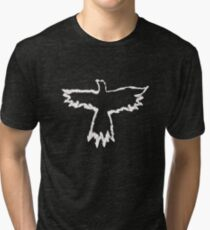 The Crow - Flames Tri-blend T-Shirt