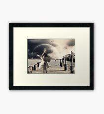Dancing in the Moonlight.... Framed Print