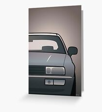 Modern Euro Icons Series VDub Corrado VR6 (Split) Greeting Card