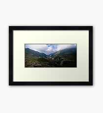 Transfagarasan Mountain Framed Print
