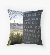 War Memorial Nova Scotia Throw Pillow