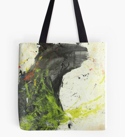 Bear tries but his hands tell lies Tote Bag