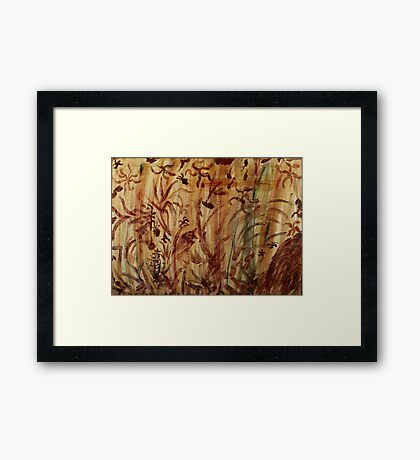 Underwater Safari Framed Print