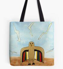 Dancing Robot  Bird Tote Bag