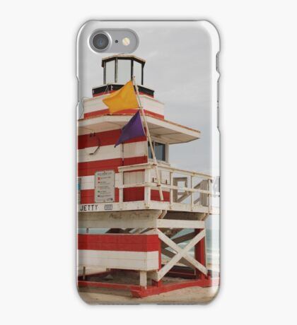 lifeguard tower iPhone Case/Skin