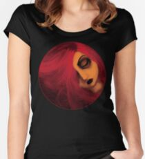 melancholia Women's Fitted Scoop T-Shirt