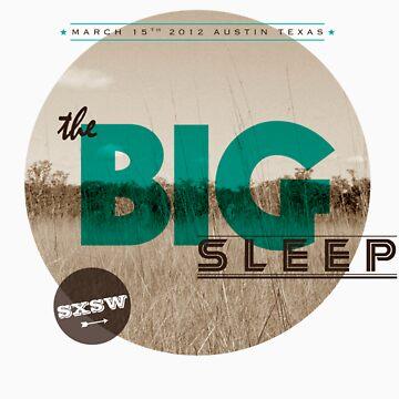 The Big Sleep Tee by chelsgus