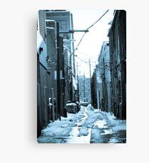 The Alleys of Denver Canvas Print