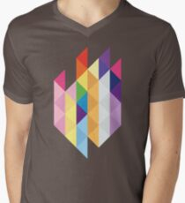 My Little Pony - Mane Six Abstraction I Men's V-Neck T-Shirt