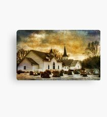The Community Church Canvas Print