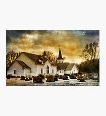 The Community Church Photographic Print