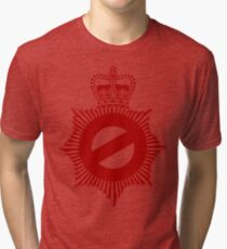Not My Division - Badge Only Edition Tri-blend T-Shirt