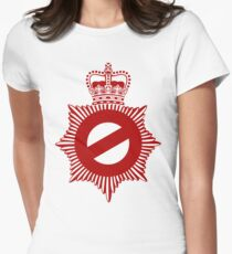 Not My Division - Badge Only Edition Women's Fitted T-Shirt