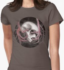Skull Impression I Women's Fitted T-Shirt