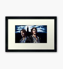 Duke Crocker Framed Print